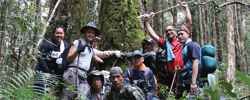 Eco challenge in the Bornean