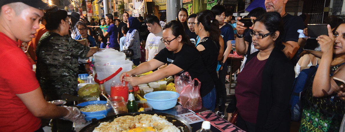 FOOD, FUN & LAUGHTER ON A HERITAGE STREET
