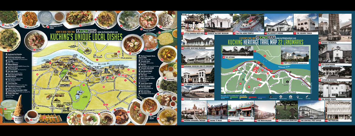 KINO Food & Heritage Trail Maps​​
